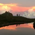 天狗山荘、夕日も朝日も楽しめるのです!