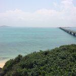 大神島と池間大橋。