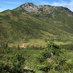 黒部五郎岳へ。小舎がなかなか見えてこず、そして最後の下りに心折れるw
