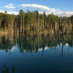 青い池、要偏光フィルタw
