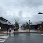 女川、駅前のアーケード「シーパルピア女川」