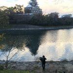 岡山城とおっさん