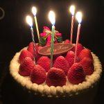 千疋屋のケーキ〜!