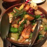 温野菜というより熱野菜w アヒージョっぽいというか? 美味!