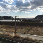 田老駅からの眺め