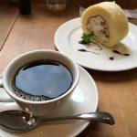 Cafe GOSHでコーヒーとケーキ。ウマイ。