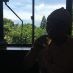 池田町の『かたせ』にて、おっさんはノンアルビールでガマン