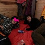 4人コンパートメントのウナギの寝床。狭くて暑かったけど、何だか楽しかったw そして何だかんだ寝たw