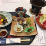 栗駒山荘の夕食