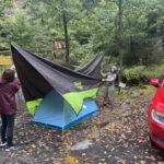ダメキャンプその2:タープ→テント、でしょうよ……
