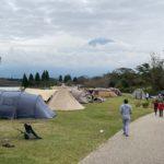 田貫湖キャンプ場に遊びに行きましたら、別世界のような混みよう…