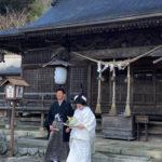 小鎚神社にて
